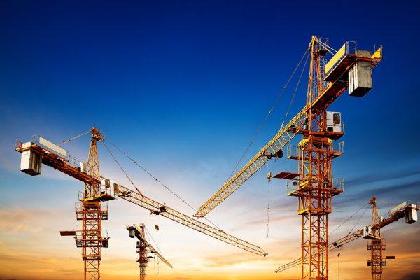 Industrial construction cranes Belfast and Lisburn
